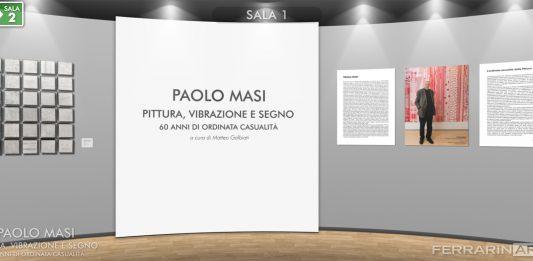 Paolo Masi – Pittura, vibrazione e segno. 60 anni di ordinata casualità (evento online)