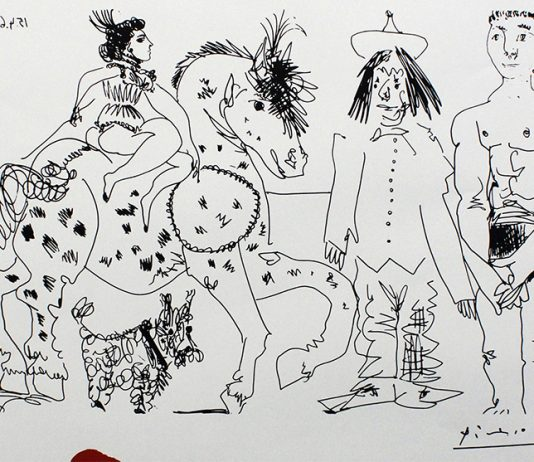 Pablo Picasso – Incisioni dalla galleria de la Colonne