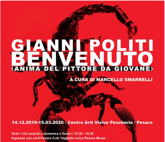 Gianni Politi – Benvenuto (anima del pittore da giovane)