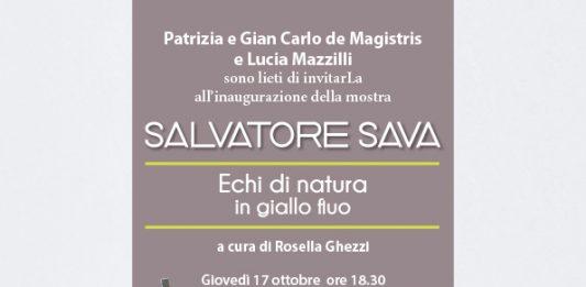 Salvatore Sava – Echi di natura in giallo fluo