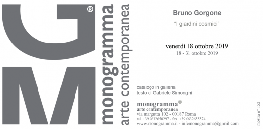 Bruno Gorgone – I giardini cosmici