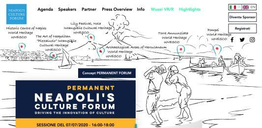 Permanent Neapoli's Culture Forum: Aperture: l'innovazione nei beni culturali