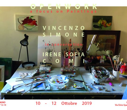 Openwork, a focus on painting #9: Vincenzo Simone / Irene Sofia Comi