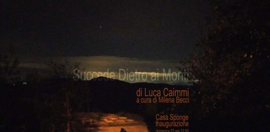 Luca Caimmi – Succede Dietro ai Monti