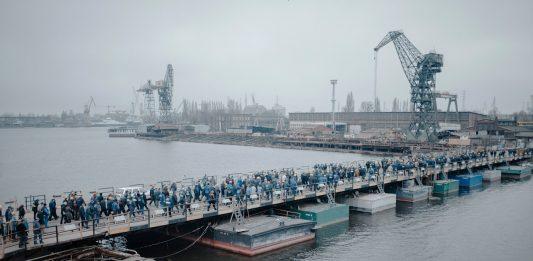 Michał Szlaga – Stocznia / Cantiere navale. Documenti di perdita