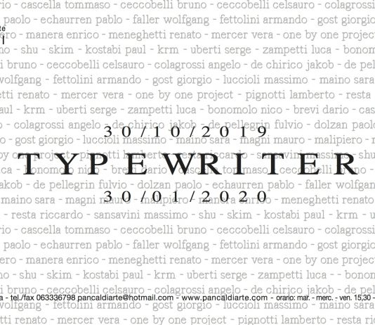 Typewriter. Machina scriptoria