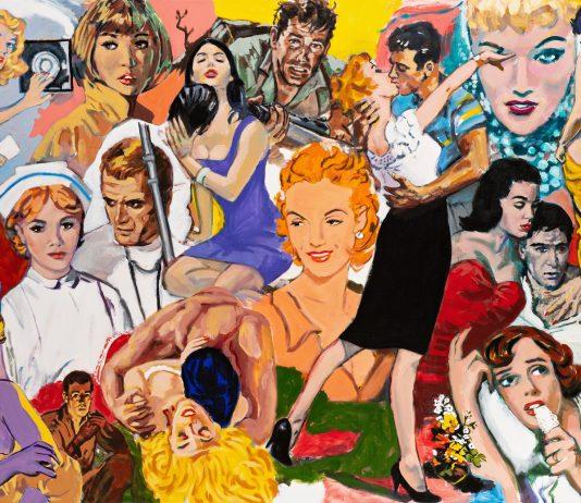 Walter Robinson. Nuovi dipinti e lavori su carta, 2013-2020