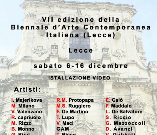 Biennale d'arte contemporanea di Lecce VII edizione