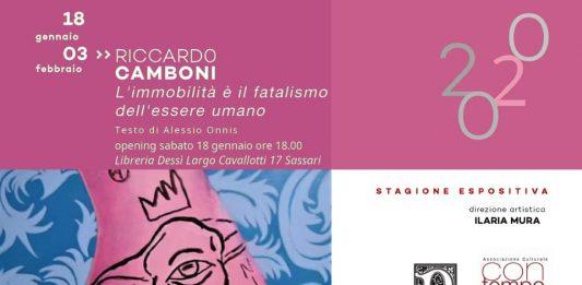 Riccardo Camboni – L'immobilità è il fatalismo dell'essere umano