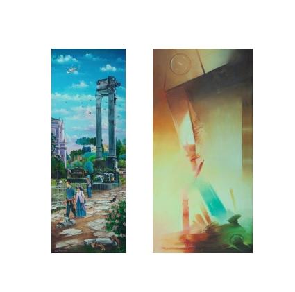 Mario La Carrubba / Lina Morici – Passeggiate Cromatiche
