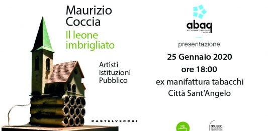 Maurizio Coccia – Il leone imbrigliato. Artisti Istituzioni Pubblico. Presentazione del libro
