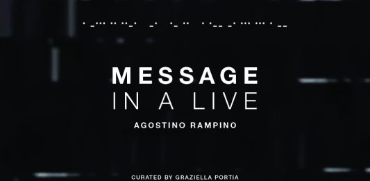 Agostino Rampino – Message in a live (evento online)