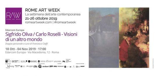 Sigfrido Oliva / Carlo Roselli – Visioni di un altro mondo