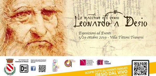 Leonardo a Desio.  Le macchine e il genio