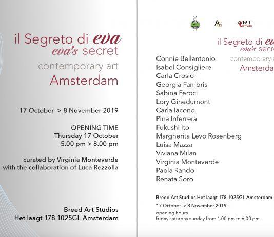 Il segreto di Eva VII Edizione – Amsterdam
