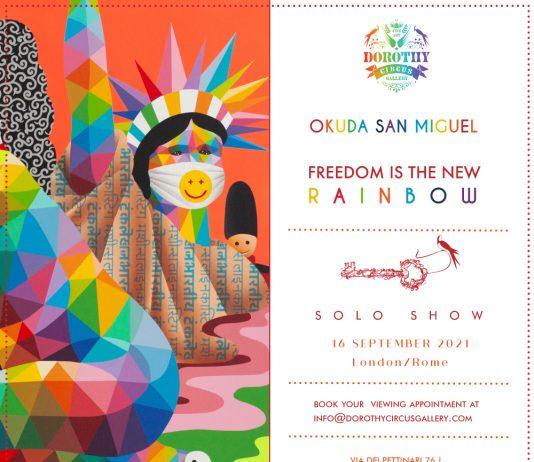 Okuda San MIguel – Freedom is the new rainbow