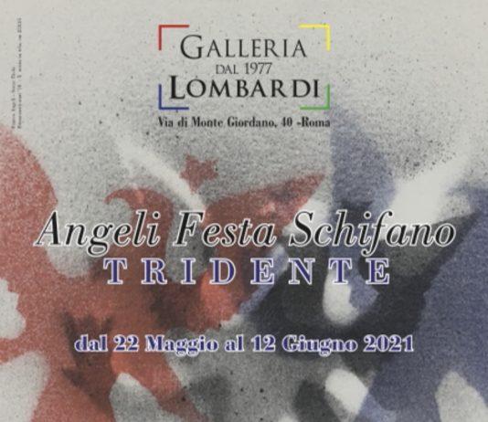 Franco Angeli / Tano Festa / Mario Schifano – Tridente