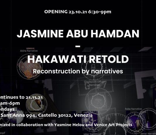 Jasmine Abu Hamdan – Hakawati Retold