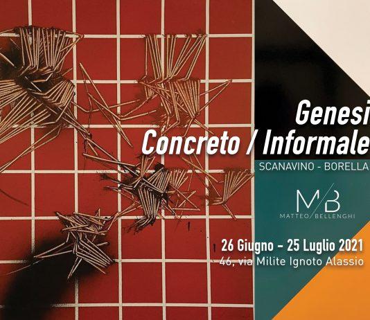 Genesi: Concreto / Informale