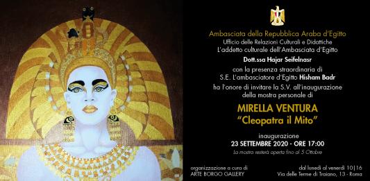 Mirella Ventura – Cleopatra. Il Mito