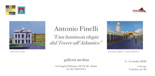 Antonio Finelli – Una luminosa elegia dal Tevere all'Atlantico