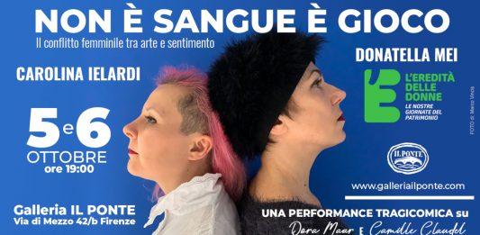 Carolina Ielardi / Donatella Mei – Non è sangue è gioco