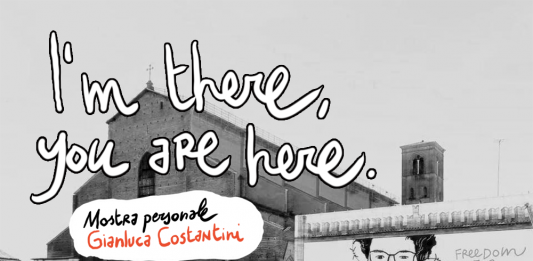 Gianluca Costantini – I'm there, you are here
