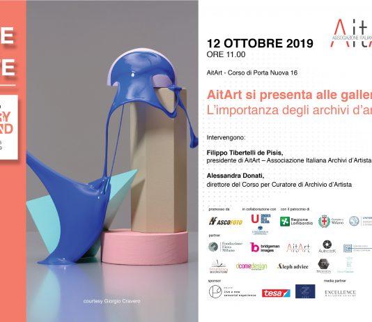 Milano Gallery Weekend:  AitArt si presenta alle gallerie
