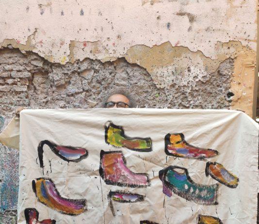 Giancarlino Benedetti Corcos – Il racconto delle scarpe scritte… Piccolo dialogo con il Velo di Maya