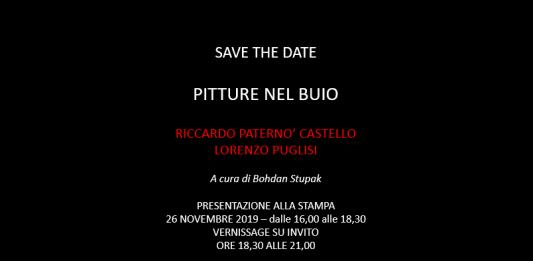 Riccardo Paternò Castello / Lorenzo Puglisi – Pitture nel buio