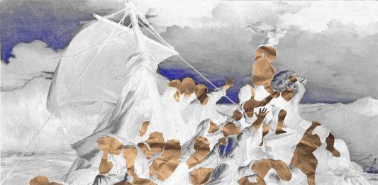 Michele Ciardulli –  La zattera  di carta