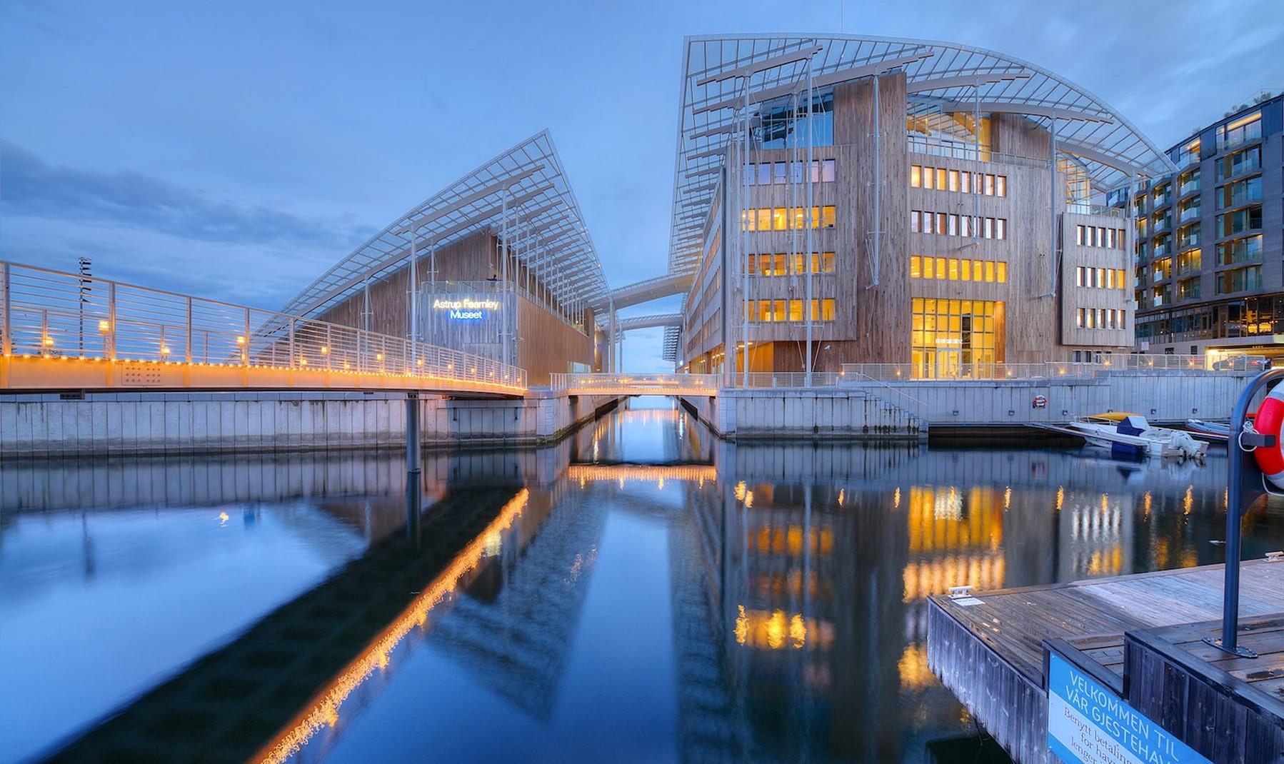 Opere Di Renzo Piano la svolta dell'astrup fearnley museum di olso exibart